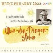 Cover-Bild zu Heinz Erhardt Postkartenkalender 2022 von Erhardt, Heinz