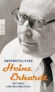 Cover-Bild zu Unvergesslicher Heinz Erhardt von Erhardt, Heinz