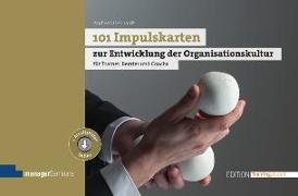 Cover-Bild zu 101 Impulskarten zur Entwicklung der Organisationskultur von Gebhardt, Andreas