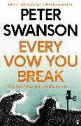 Cover-Bild zu Every Vow You Break von Swanson, Peter