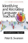 Cover-Bild zu Identifying and Recruiting Language Teachers (eBook) von Swanson, Peter B.