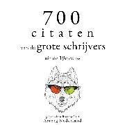 Cover-Bild zu 700 citaten van de grote schrijvers uit de 19e eeuw (Audio Download) von Flaubert, Gustave