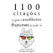 Cover-Bild zu 1.100 citações de grandes escritores franceses do século 19 (Audio Download) von Flaubert, Gustave