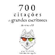 Cover-Bild zu 700 citações de grandes escritores do século 19 (Audio Download) von Flaubert, Gustave