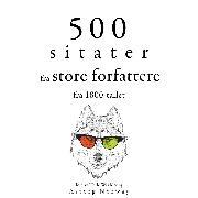 Cover-Bild zu 500 sitater fra store forfattere fra 1800-tallet (Audio Download) von Flaubert, Gustave
