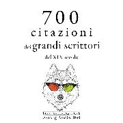 Cover-Bild zu 700 citazioni dei grandi scrittori del XIX secolo (Audio Download) von Flaubert, Gustave