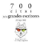 Cover-Bild zu 700 citas de los grandes escritores del siglo XIX (Audio Download) von Flaubert, Gustave