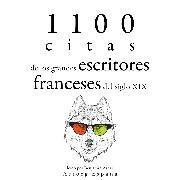 Cover-Bild zu 1100 citas de los grandes escritores franceses del siglo XIX (Audio Download) von Flaubert, Gustave