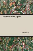 Cover-Bild zu Memoirs of an Egotist (eBook) von Stendhal