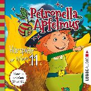 Cover-Bild zu Petronella Apfelmus, Teil 11: Eine abenteuerliche Nacht, Der komische Cousin, Die Mondglockenblume (Audio Download) von Städing, Sabine