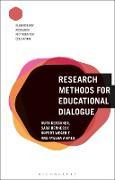 Cover-Bild zu Research Methods for Educational Dialogue (eBook) von Kershner, Ruth