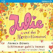 Cover-Bild zu Julie und das Herzschlamassel (Audio Download) von Düwel, Franca