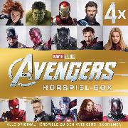 Cover-Bild zu MARVEL Avengers - The Avengers Hörspiel-Box (Audio Download) von Bingenheimer, Gabriele
