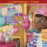 Cover-Bild zu Doc McStuffins Hörspiel - Folge 7: Valentinstag/Schnupfenhilfe/Schneemann in Pink/Karate-Kängurus (Disney TV-Serie) (Audio Download) von Bingenheimer, Gabriele