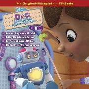 Cover-Bild zu Doc McStuffins Hörspiel - Folge 6: Roboter Ray rettet die Welt/Bella, die Primaballerina/Das Seifenblasen-Äffchen/Die Nacht der Sternschnuppen (Disney TV-Serie) (Audio Download) von Bingenheimer, Gabriele