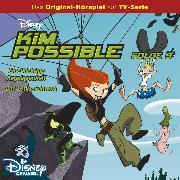 Cover-Bild zu Kim Possible Hörspiel - Folge 9: Eine klebrige Angelegenheit/Das Lotus-Schwert (Disney TV-Serie) (Audio Download) von Bingenheimer, Gabriele