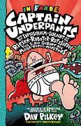 Cover-Bild zu Captain Underpants Band 6 - Captain Underpants und die Superschleim-Schlacht mit dem Riesen-Roboter-Rotzlöffel von Pilkey, Dav
