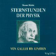 Cover-Bild zu Sternstunden der Physik (Audio Download) von Bührke, Thomas