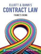 Cover-Bild zu Elliott & Quinn's Contract Law (eBook) von Elliott, Catherine