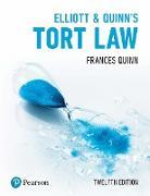Cover-Bild zu Elliott & Quinn's Tort Law PDF eBook (eBook) von Quinn, Frances
