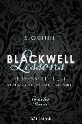 Cover-Bild zu Blackwell Lessons - Entfesselte Lust. Von Marc Blackwell erzählt (eBook) von Quinn, S.