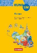 Cover-Bild zu Rund um ..., Grundschule, 2.-4. Schuljahr, Rund um Europa, Kopiervorlagen von Brosche, Heidemarie
