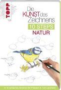 Cover-Bild zu Die Kunst des Zeichnens 10 Steps - Natur von Woodin, Mary