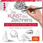 Cover-Bild zu Die Kunst des Zeichnens. Der Quick-Start-Block von frechverlag
