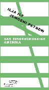 Cover-Bild zu Das eingeschossige Amerika (eBook) von Ilf, Ilja