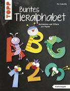 Cover-Bild zu Buntes Tieralphabet (kreativ.kompakt) von Pedevilla, Pia