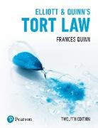 Cover-Bild zu Elliott & Quinn's Tort Law (eBook) von Quinn, Frances