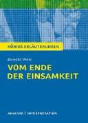 Cover-Bild zu Vom Ende der Einsamkeit. Königs Erläuterungen (eBook) von Wells, Benedict