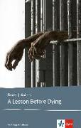 Cover-Bild zu A Lesson Before Dying von Gaines, Ernest J