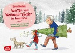 Cover-Bild zu Die schönsten Winter- und Weihnachtslieder im Kamishibai. Kamishibai Bildkartenset von Kunz, Hildegard (Hrsg.)