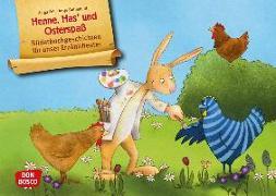 Cover-Bild zu Henne, Has' und Osterspaß. Kamishibai Bildkartenset von Fell, Helga