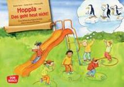 Cover-Bild zu Hoppla - Das geht heut nicht! Eine Bilderbuchgeschichte übers Abstand halten von Suhr, Antje