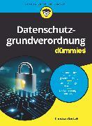 Cover-Bild zu Datenschutzgrundverordnung für Dummies (eBook) von Szidzek, Christian