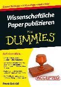 Cover-Bild zu Wissenschaftliche Paper publizieren für Dummies (eBook) von Erdnüss, Frank