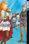 Cover-Bild zu Black Clover 05 von Tabata, Yuki