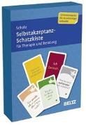 Cover-Bild zu Selbstakzeptanz-Schatzkiste für Therapie und Beratung von Scholz, Falk Peter