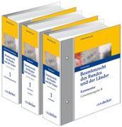 Cover-Bild zu Beamtenrecht des Bundes und der Länder - Gesamtausgabe von Brockhaus, Robert