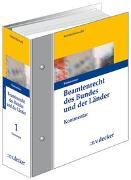 Cover-Bild zu Beamtenrecht des Bundes und der Länder - Kommentar von Brockhaus, Robert
