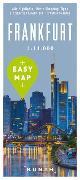 Cover-Bild zu EASY MAP Deutschland FRANKFURT. 1:14'000 von KUNTH Verlag GmbH & Co. KG (Hrsg.)