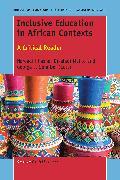 Cover-Bild zu Inclusive Education in African Contexts (eBook) von Phasha, Nareadi (Hrsg.)