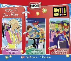Cover-Bild zu Die drei !!! 3er-Box 07. Folge 19-21
