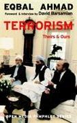 Cover-Bild zu Terrorism von Ahmad, Eqbal