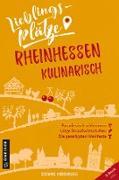 Cover-Bild zu eBook Lieblingsplätze Rheinhessen kulinarisch