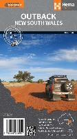 Cover-Bild zu Outback New South Wales. 1:1'100'000