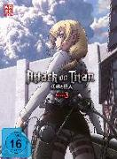 Cover-Bild zu Araki, Tetsuro (Hrsg.): Attack on Titan - 3. Staffel - DVD 2