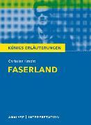 Cover-Bild zu Faserland von Christian Kracht. Textanalyse und Interpretation (eBook) von Kracht, Christian